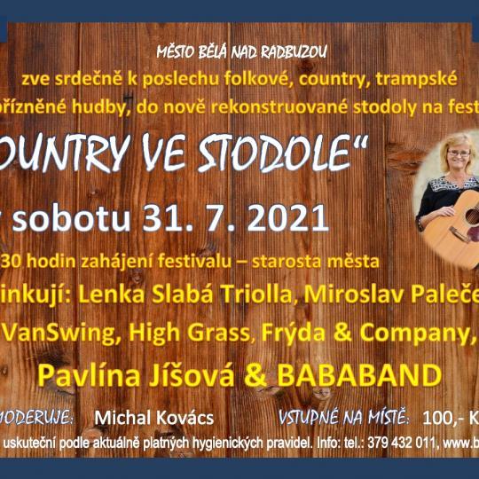 HUDEBNÍ FESTIVAL COUNTRY VE STODOLE 1